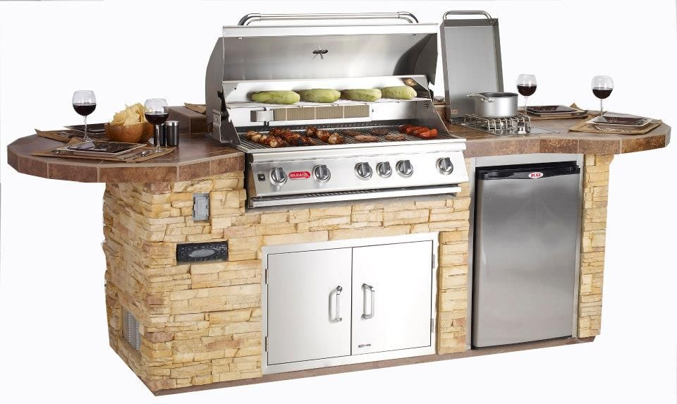 Pin By Marie Angel On Backyard Grill Island Bbq Island Built In Grill