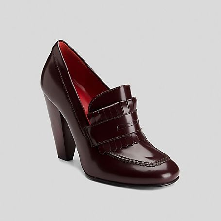 ce9b1890075e73 Image for Penny Loafer Heel from Tommy Hilfiger USA