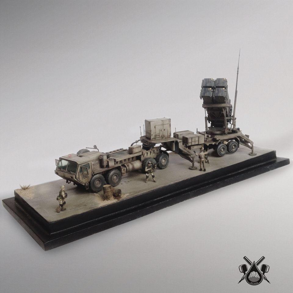 US PATRIOT MISSILE PAC SCALE : 1/72 MANUFACTURE : U S M977 CARGO