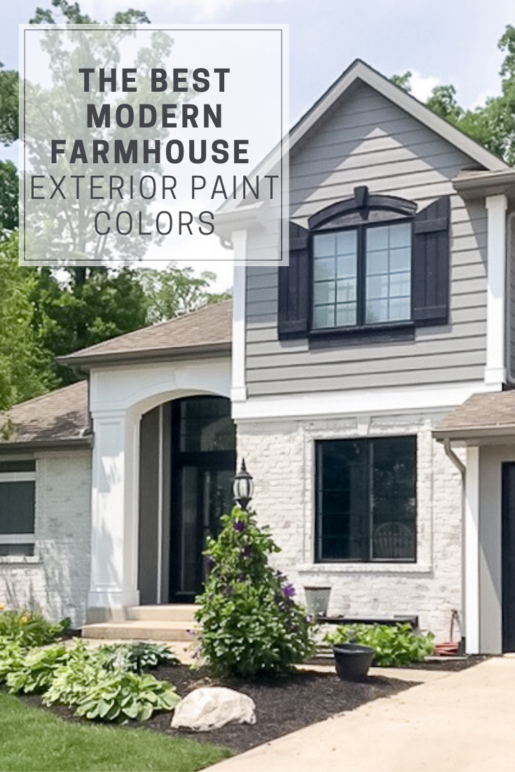 The Best Modern Farmhouse Exterior Paint Colors Repurpose Life In 2020 Brick Exterior House Modern Farmhouse Exterior House Paint Exterior,City Hall New York Courthouse Wedding