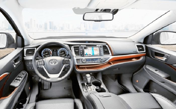 2020 Toyota Highlander Interior Design Toyota Highlander Interior Toyota Highlander Toyota