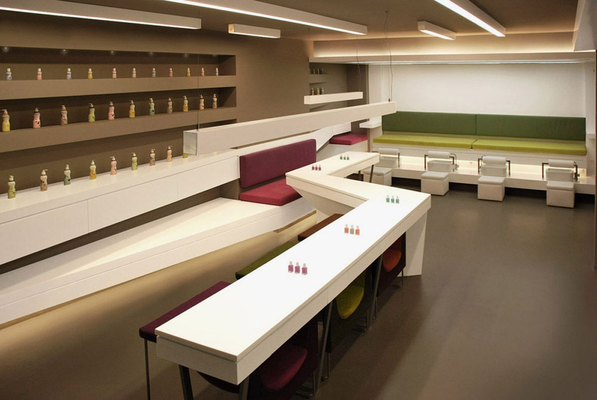 Nail Salon Design Idea Nail Salon Design Nail Spa Salon Interior