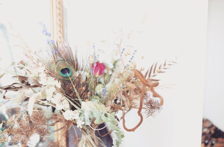 Bouquet de #fleursséchées  #homedecor #decoration #driedflowers