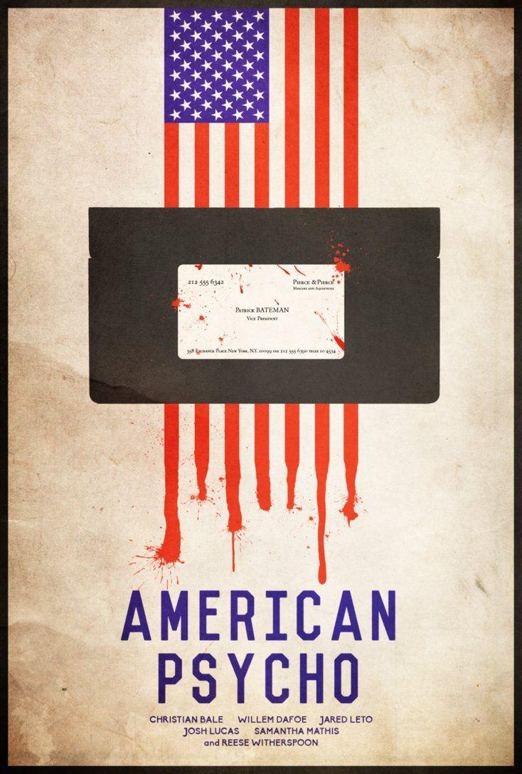 кино американский психопат постеры патология