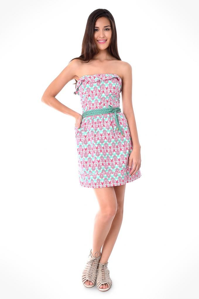 estampa dress to