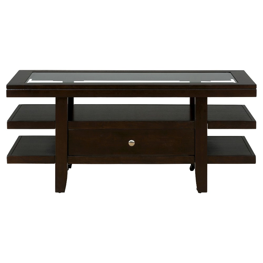 Best Marlon Rectangle Cocktail Table Brown Jofran Inc End 400 x 300