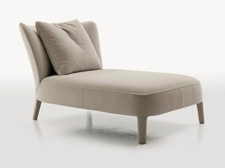 Upholstered Fabric Day Bed Febo Chaise Longue Maxalto A Brand Of B B Italia Spa Sillones Tumbonas Muebles Sala Mobiliario