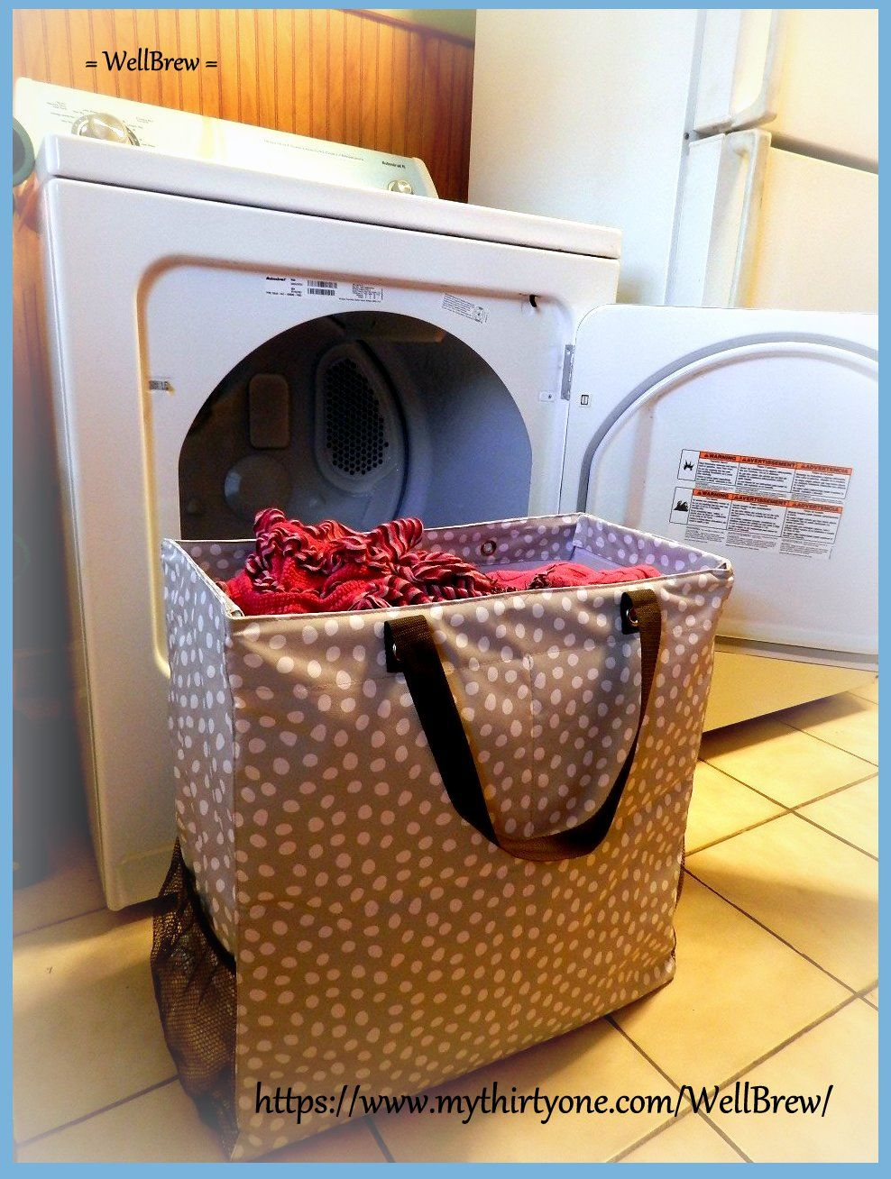 Love How I Can Use This For My Laundry Its So Easy The Kids To Carry Thirty One Room Two Utility Tote