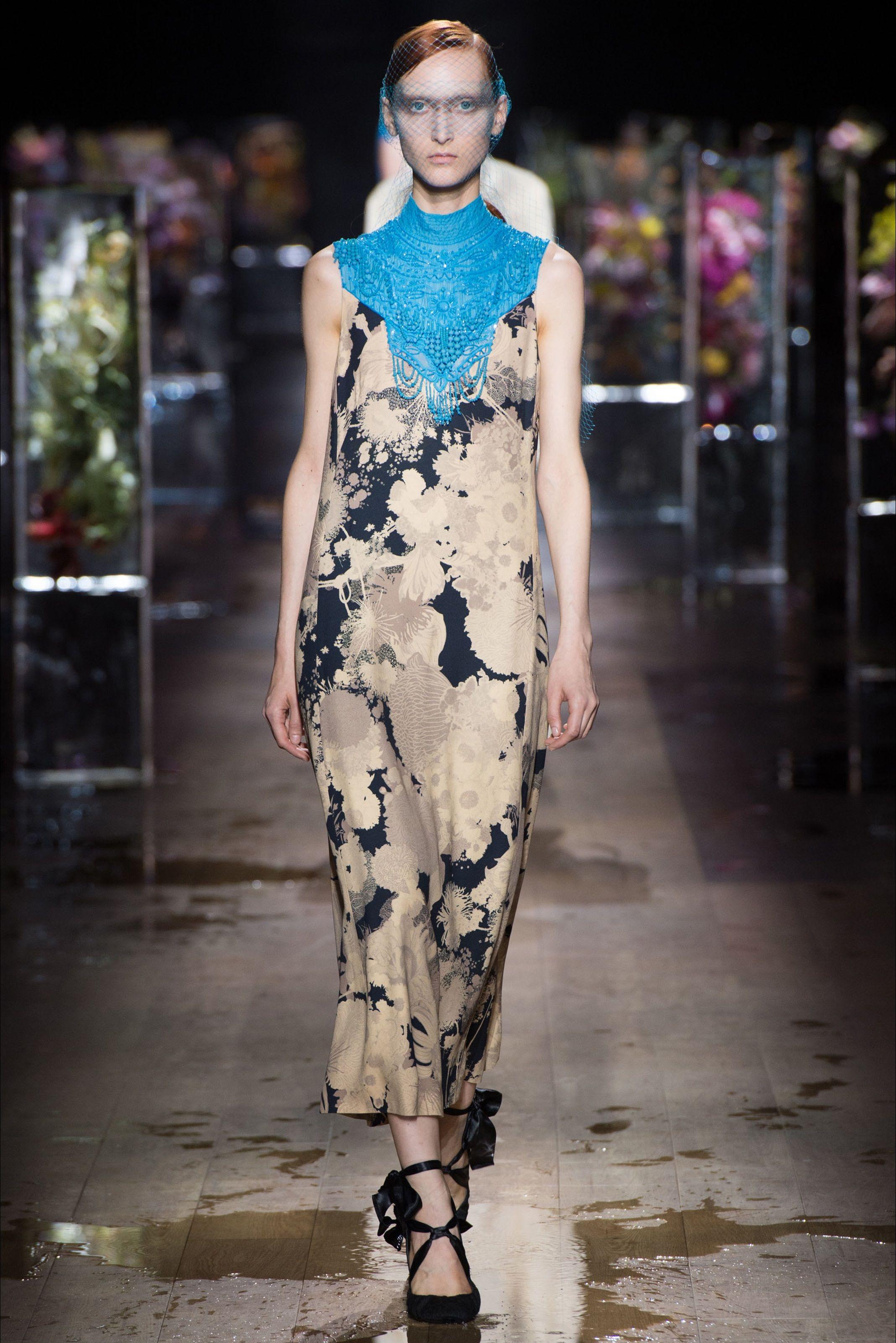 Fashion · Sfilata Dries Van Noten Parigi ...