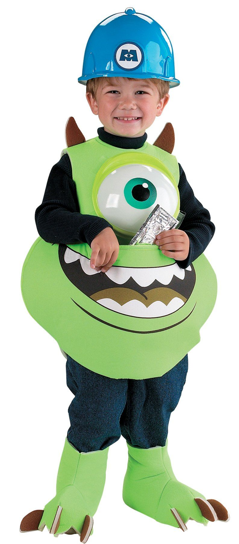 Mike candy catcher | Products | Boy costumes, Halloween
