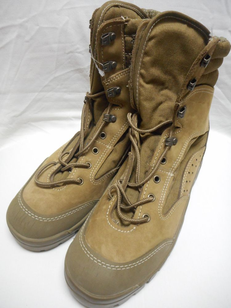 Bates Hot Weather Combat Hiker Boots Olive Mojave E03612C Size 6 Wide