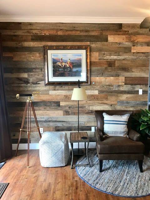 Ultra Thin Original Face Grey Brown Barn Wood Siding