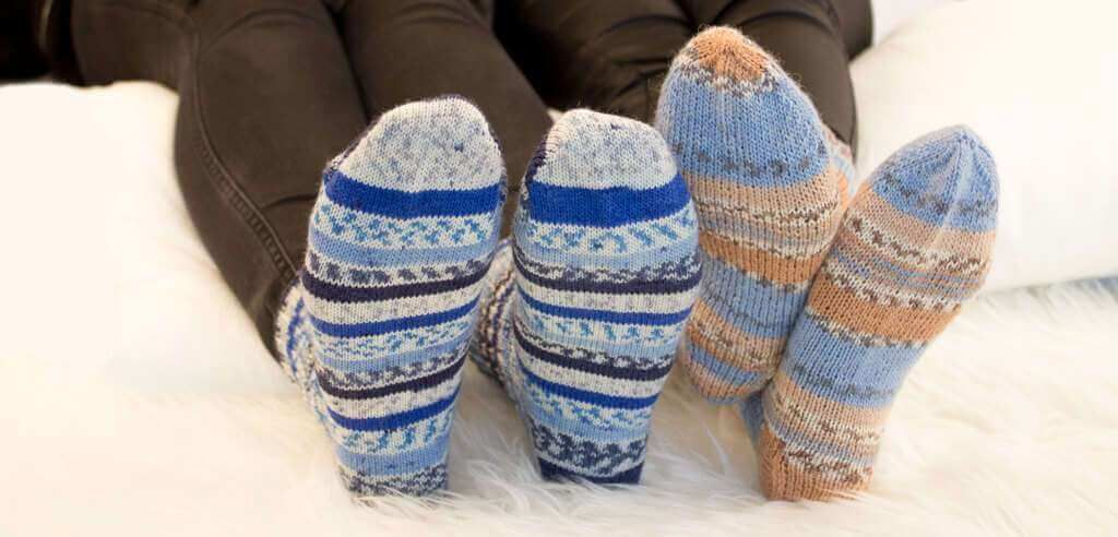 Photo of Knit socks for dummies – instructions including size chart