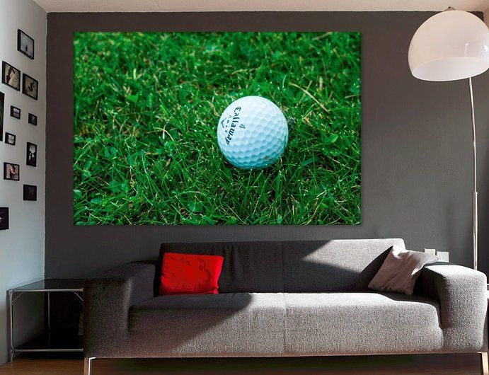 Golf Wall Decor Golf Canvas Art Golf Player Gift Golf Club Decor Hotel Wall  Art Sport