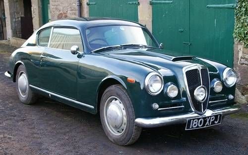 Oh, wouldn't this just be FUN to drive? 1954 Lancia Aurelia B20 GT 4th series