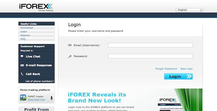 iFOREX Sign In Account Signs, Call backs