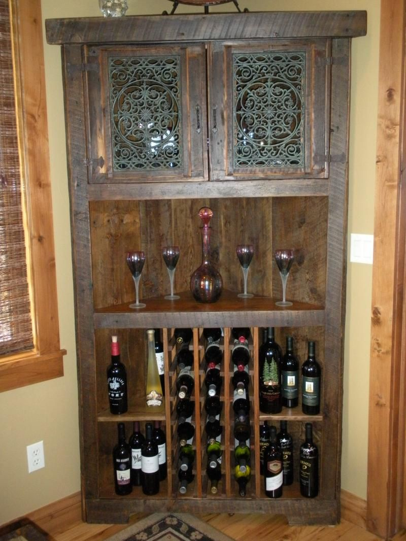Wine Cabinet That Fits Nicely In A Corner Otherwise Would Go Unused I Like It