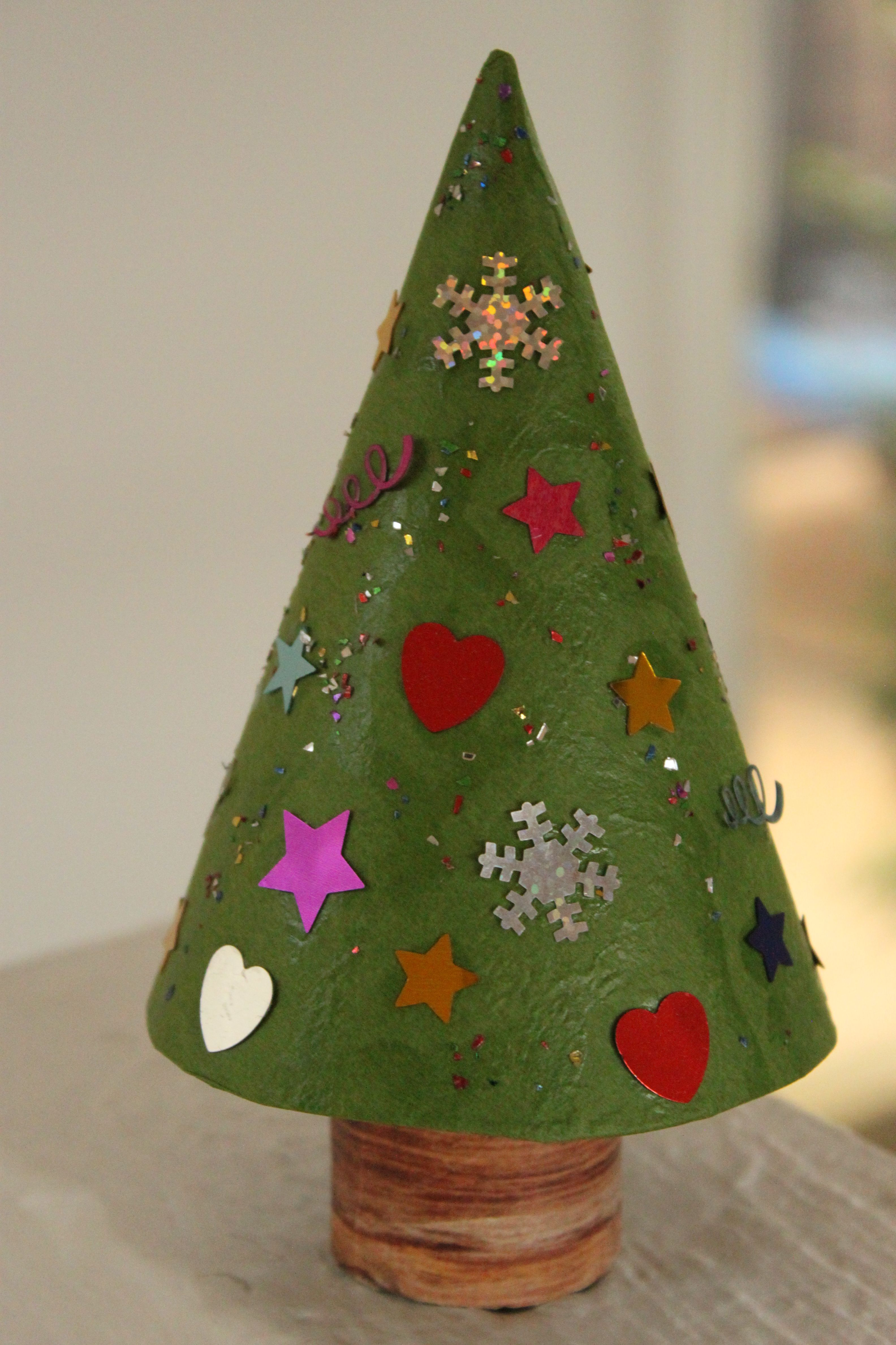 Make Mini Christmas Trees For The Kids To Decorate Out Of Toilet Paper Rolls And Coloured Paper Christmas Crafts For Kids Christmas Crafts Sunday School Crafts