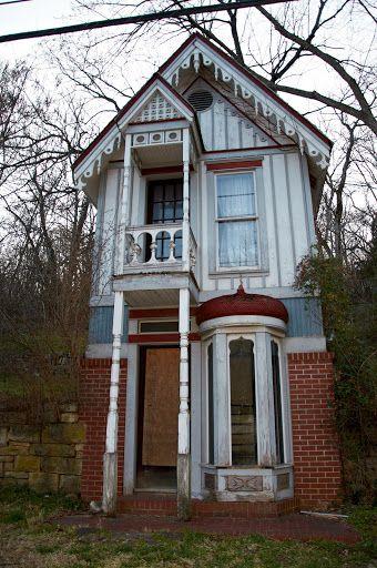 Abandoned House In Eureka Springs Arkansas Abandoned