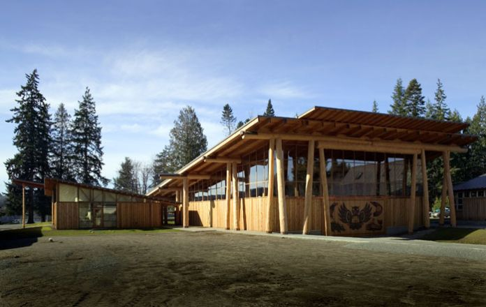 S klallam tribal center cutler anderson architects for Jim cutler architect
