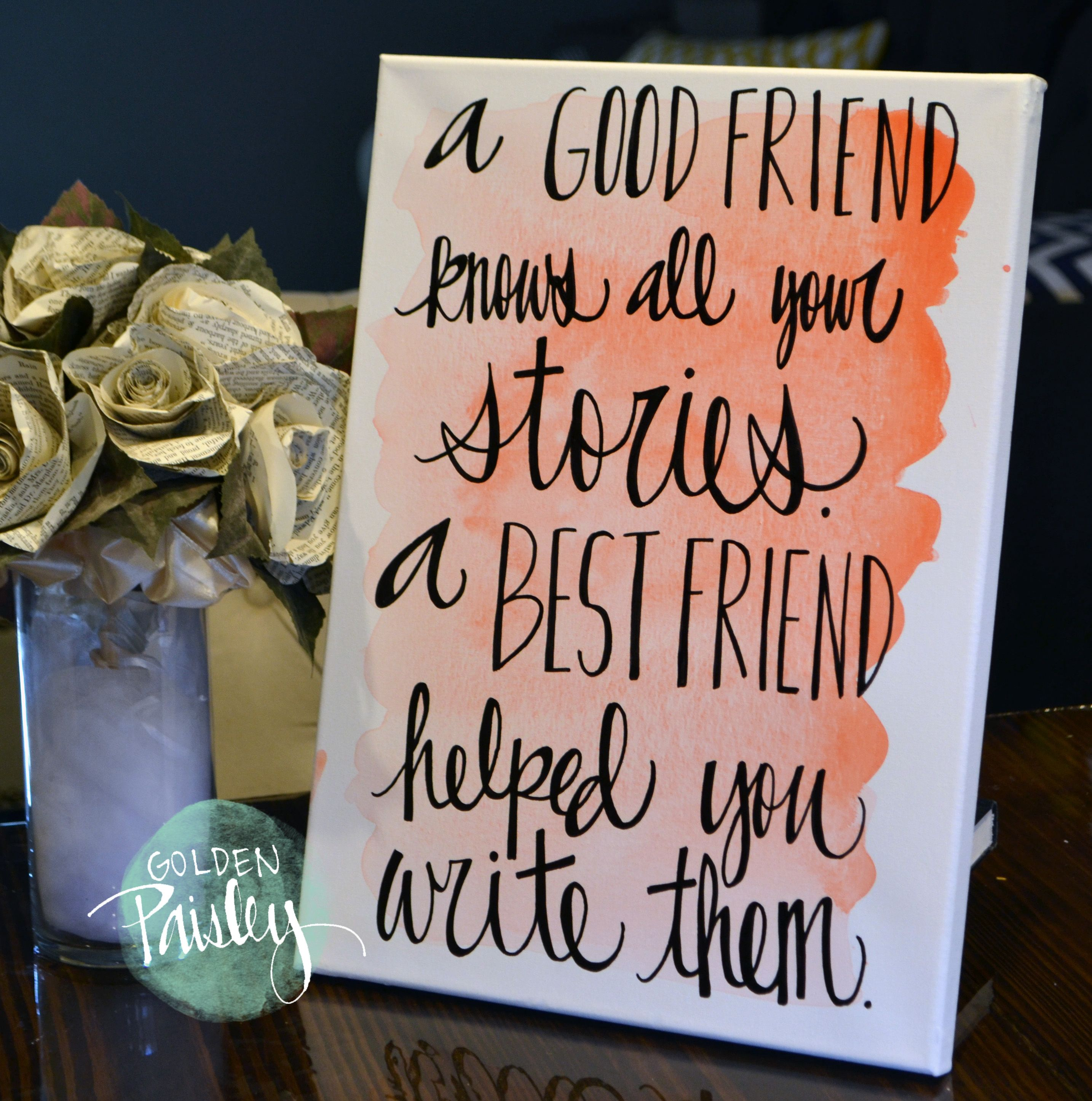 Image result for best friends canvas quotes | diy crafts i love