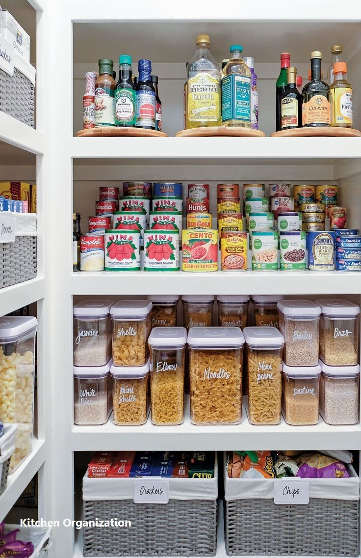 Kitchen Organization Cabinet Ideas  #organization #kiychenorganize