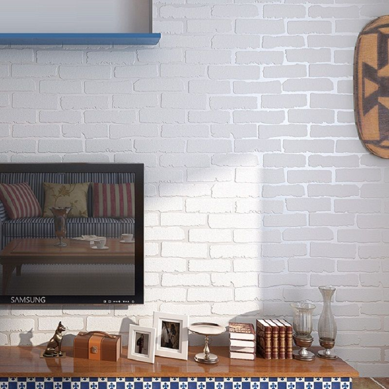 Pin By Great Products On Ideas For Home Brick Wall Living Room Brick Wall Wallpaper Brick Wallpaper Roll