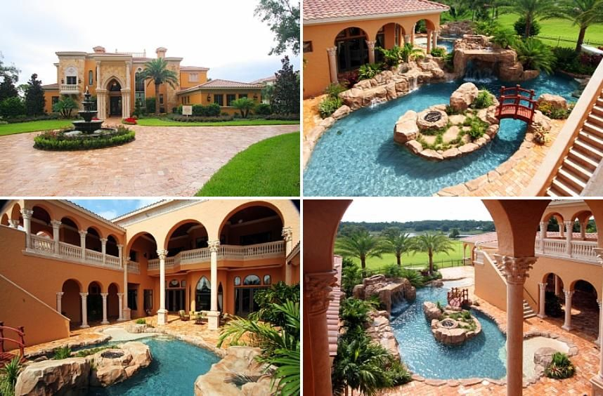 stylist and luxury home and garden show orlando. Dwight Howard house profile Longwood  Florida home pictures rare facts and information about