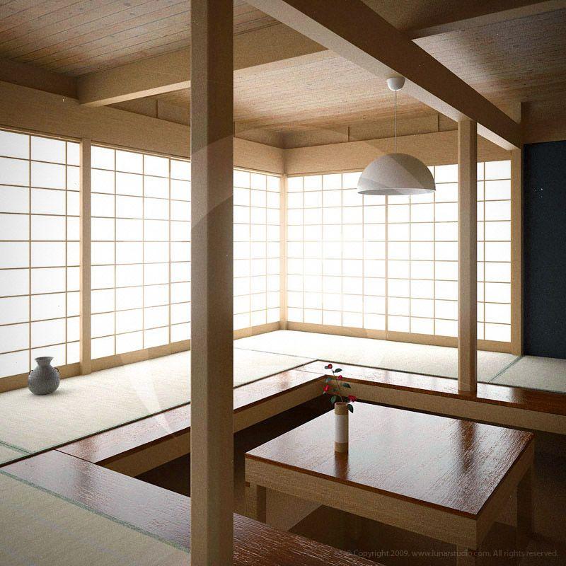 teahouse interior design in - photo #45