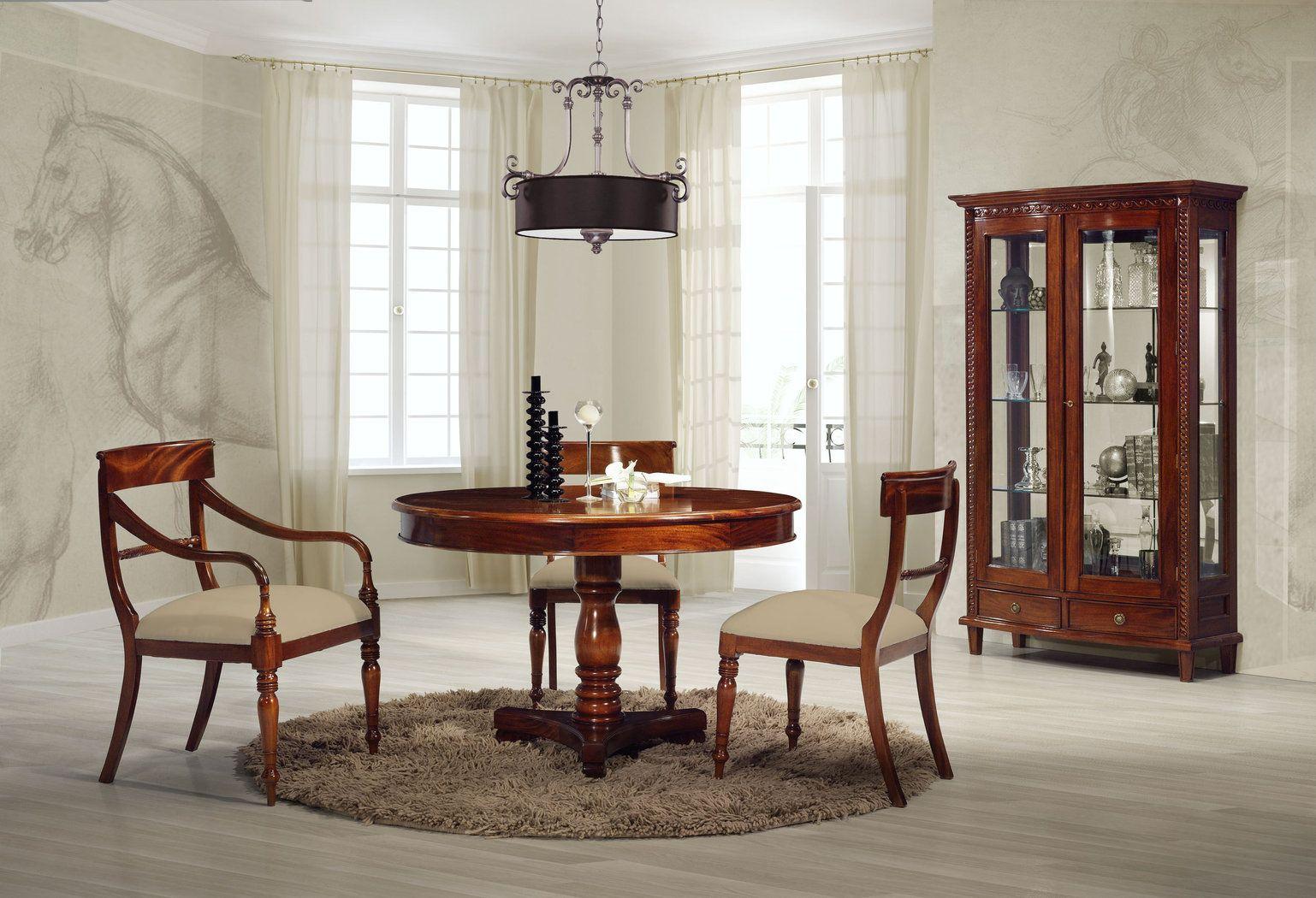 Comedor clasico regencia ideas para decorar el comedor for Decoracion de salon comedor clasico
