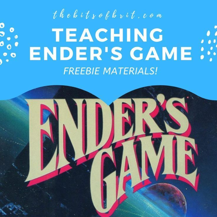 0011 Teaching Ender s Game! Common Core. High School English
