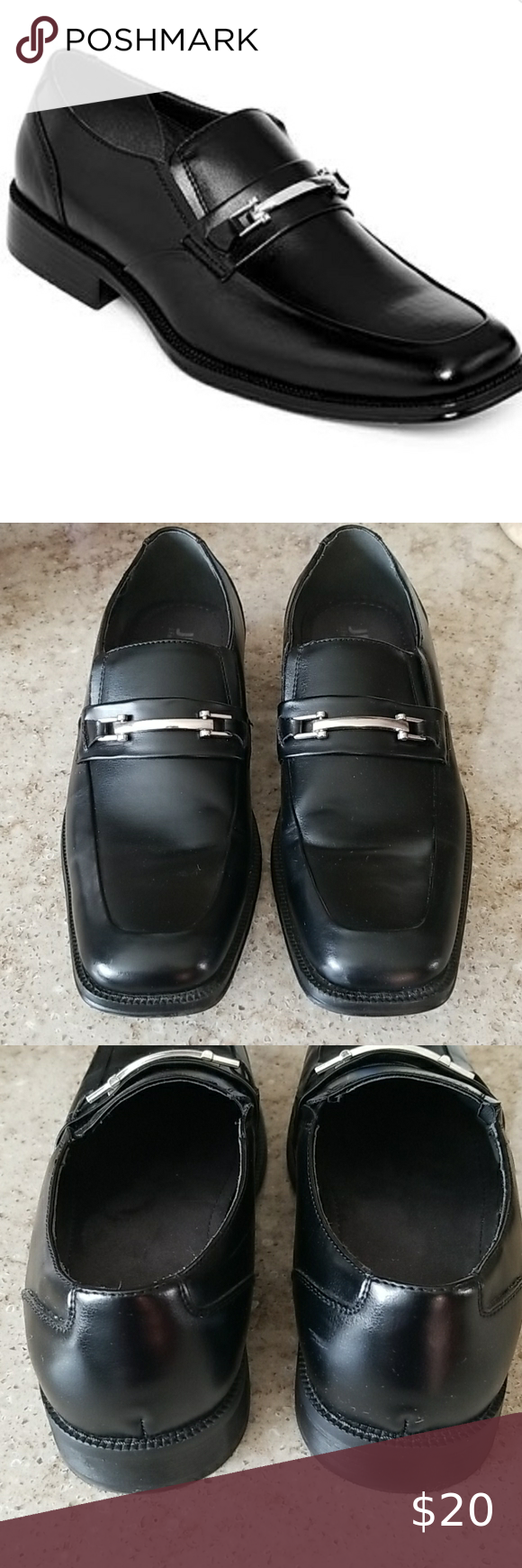Jf J Ferrar Black Dress Loafers Black Dress Loafers Dress Loafers Loafers [ 1740 x 580 Pixel ]
