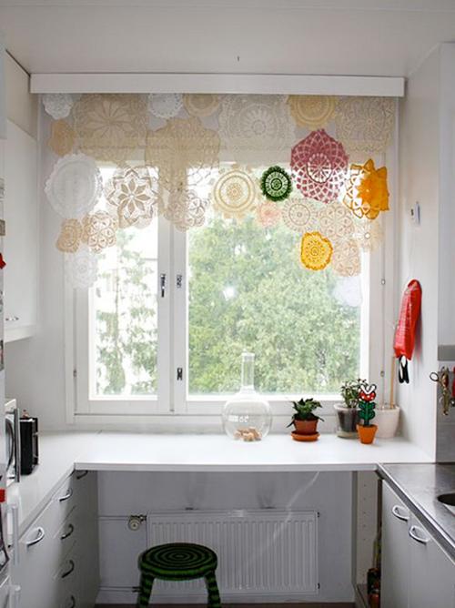 Ideas para decorar ventanas o c mo hacer cortinas con for Hacer cortinas cocina
