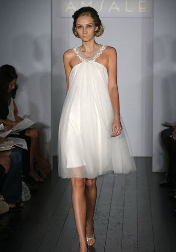 Baby Doll Wedding Dresses | Wedding dress, Wedding and Short wedding ...