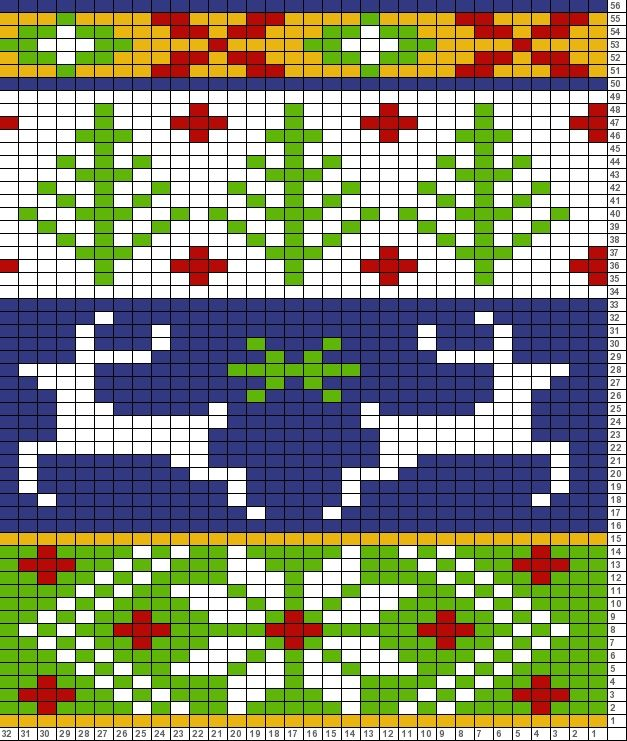 Tricksy Knitter Charts: christmas (71930) (71931) http://www ...