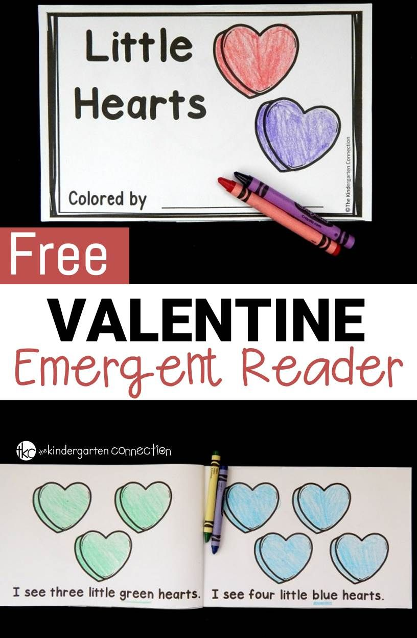 valentine emergent reader learning to read activities for reading valentine activities. Black Bedroom Furniture Sets. Home Design Ideas