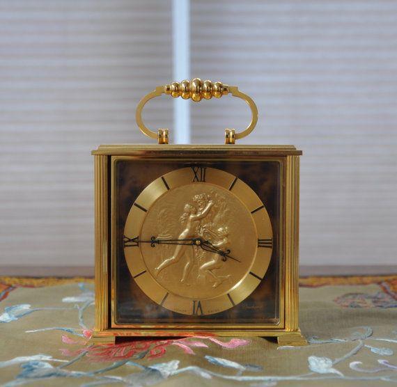 Bucherer Imhof 15 Jewels Swiss Clock 24 441 Swiss Clock Clock Mantel Clock