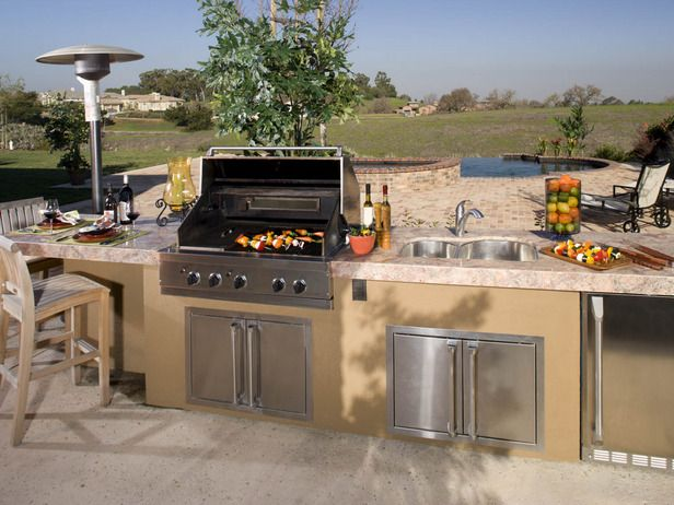 33 Amazing Outdoor Kitchens | Hot tubs, Tubs and What s on outdoor entertainment designs and ideas, kitchen plans and ideas, kitchen backsplash designs and ideas, summer kitchen designs and ideas, kitchen cabinets and ideas,