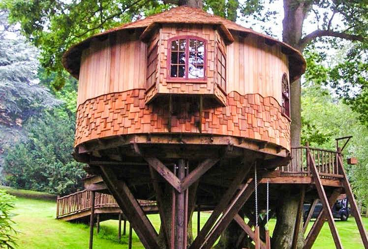 14 Best Treehouses By Blue Forest - Supercompressor.com