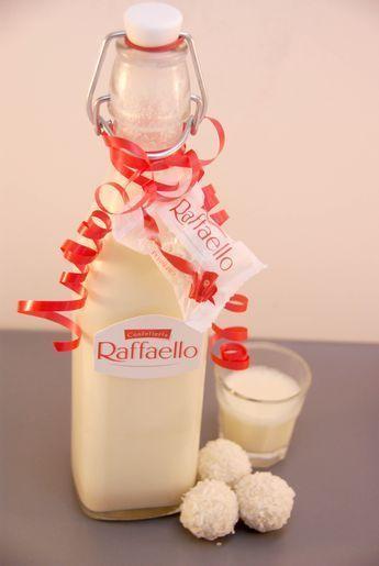Wonderfully creamy, sweet and tasty Raffaelo liqueur  Wonderfully creamy, sweet and tasty Raffaelo liqueur