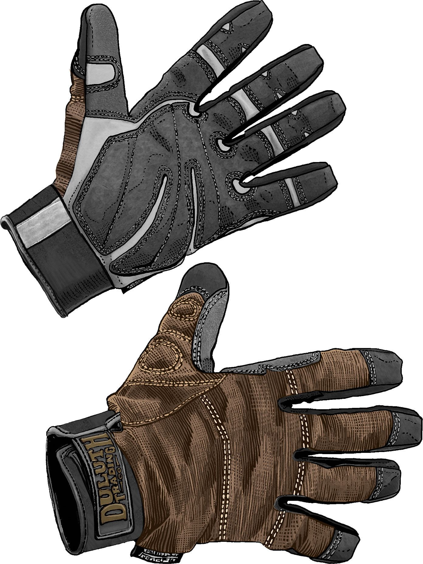 Justin leather work gloves - Men S Duluth Trading Winterproof Work Gloves Feature Ironclad Technology To Make Them As Tough As Work
