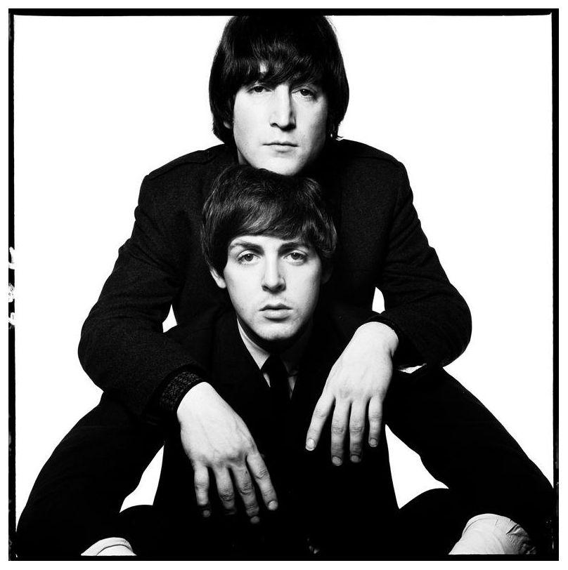John Lennon Paul Mccartney 1965 Photo David Bailey John Lennon Paul Mccartney Lennon And Mccartney The Beatles