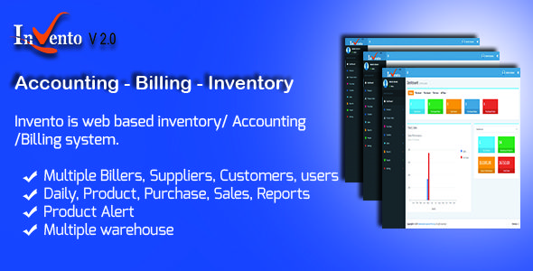cool Invento - Accounting Billing Inventory Management - inventory management template