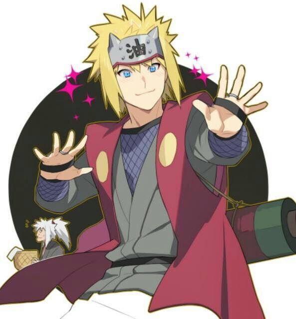 Namikaze Minato Jiriya Naruto Naruto Naruto