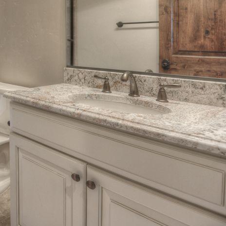 White Springs granite in upstairs bath Home Remodel ideas