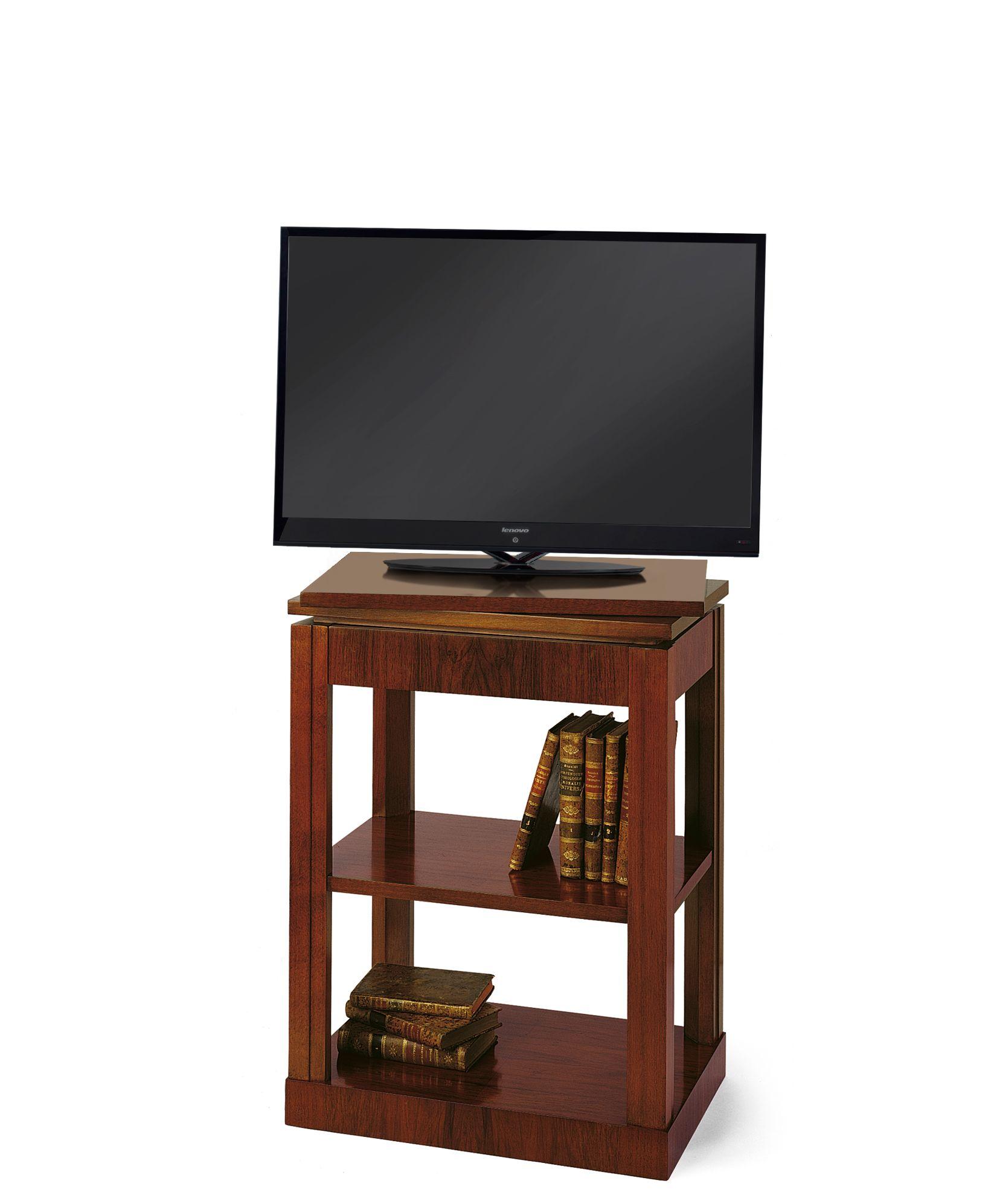 Mueble De Televisi N Formado Por Una Estructura De Cuatro  # Muebles Podesta