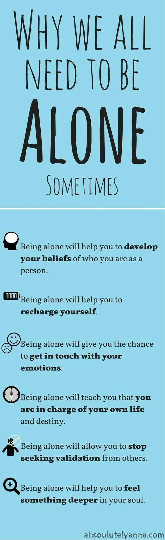Quotes About Self Esteem Why We All Need To Be Alone Sometimes  Philo  Pinterest
