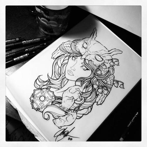 1 Tattoo Art Tumblr Art Tattoo Tattoos Name Tattoo Designs