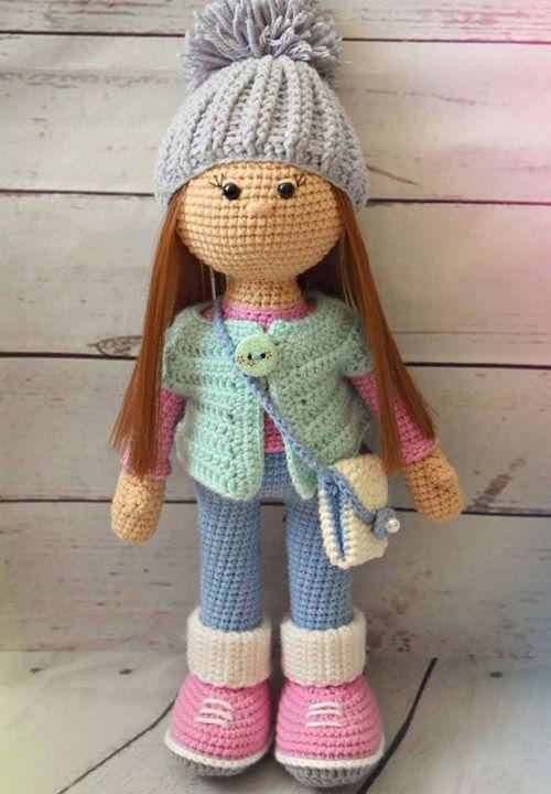 Crochet For Children: Amigurumi Molly Doll - Free Pattern ...