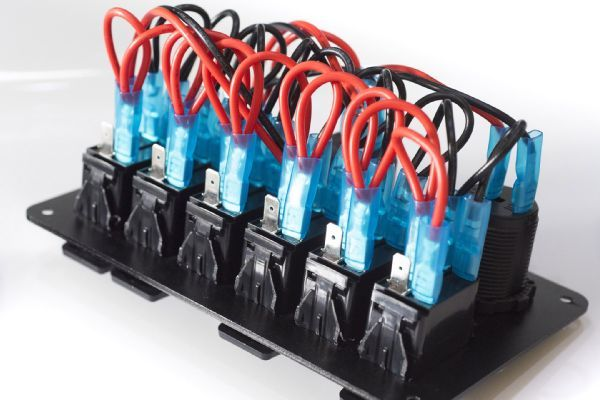 009 Painless Trail Rocker Wires Switch Panel Photo 227175869 Wire Switch Painless Lights
